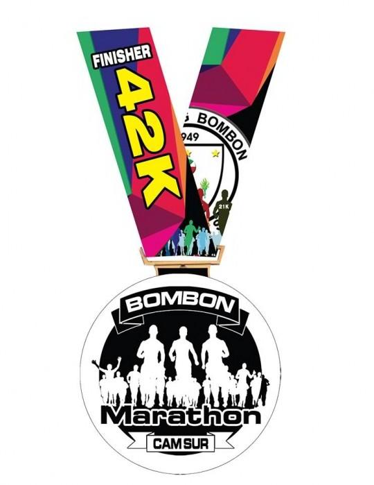 Bombon-Marathon-42K-Finishers-Medal