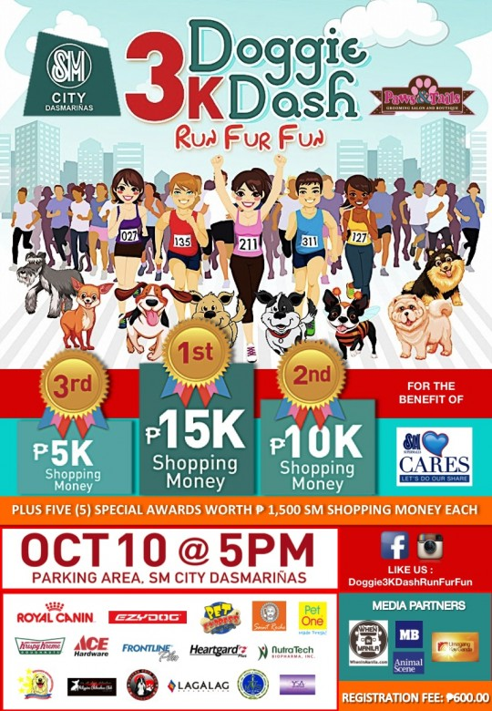 Doggie-3K-Dash-Run-Fur-Fun-Poster