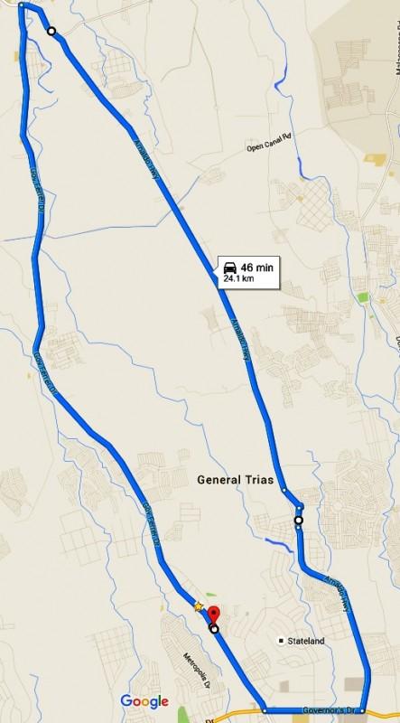 GenTri-360-City-Run-Race-Map