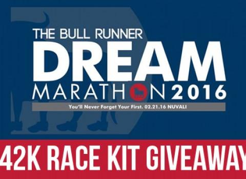 TBR Dream Marathon Race Kit Giveaway
