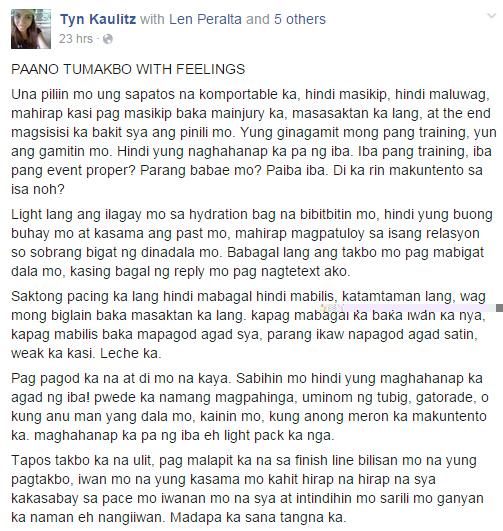 paano-tumakbo-with-feelings