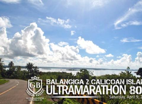Balangiga to Calicoan Island 80K Ulramarathon Cover
