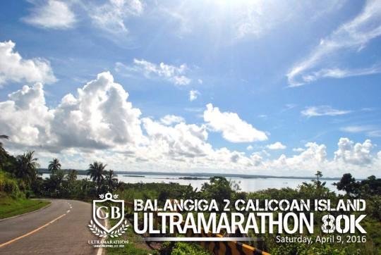 Balangiga to Calicoan Island 80K Ulramarathon pOSTER