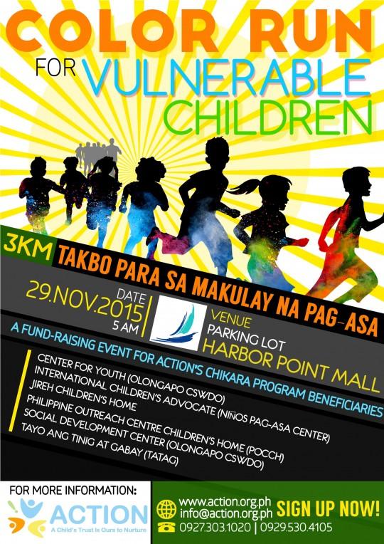 Color-Run-for-vulnerable-children-Poster