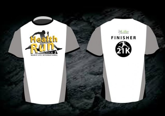 HEALTH RUN FINISHER SHIRT