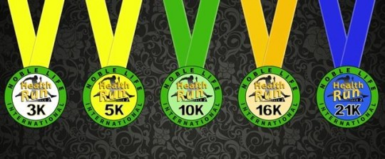 HEALTH RUN MEDAL