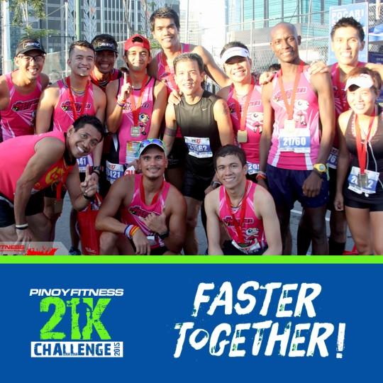 PF 21K Challenge 2015 Team