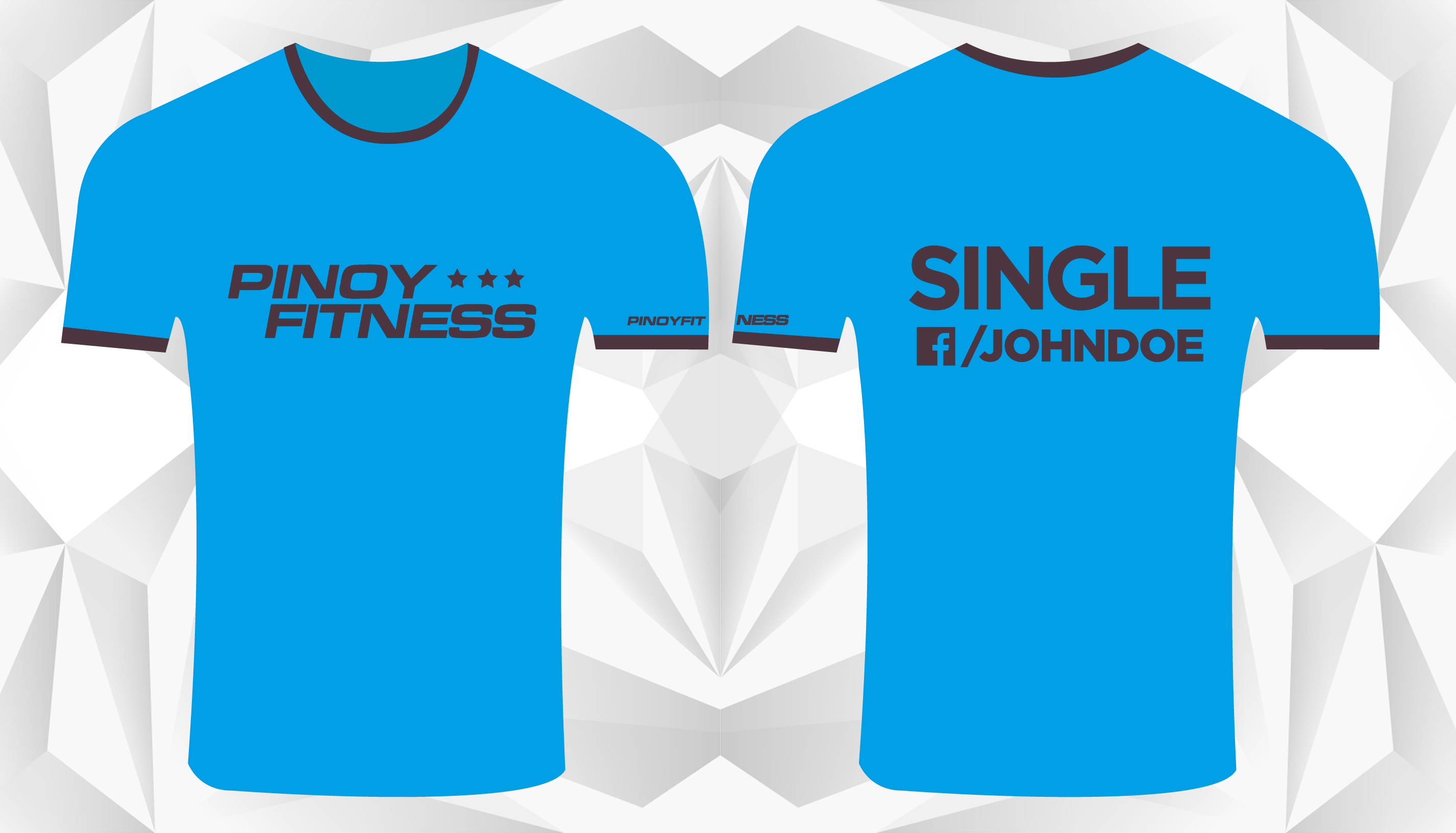 Personalized ad racing tee for singles pinoy fitness for Single custom t shirt