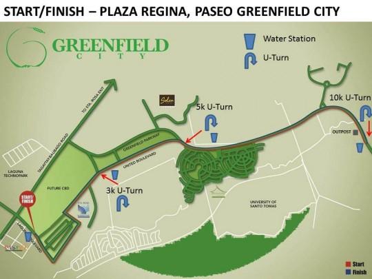 rotaract-color-run-2015-race-route