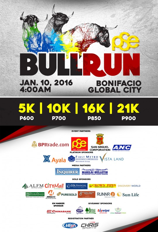 Bull Run Official Poster (Sponsors) 01052016