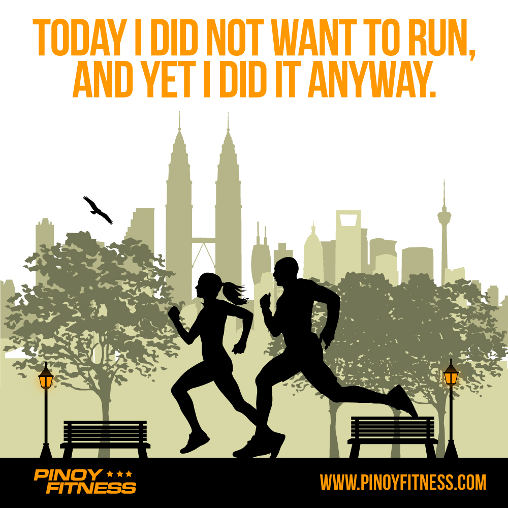 Today I Didnt Want To Run