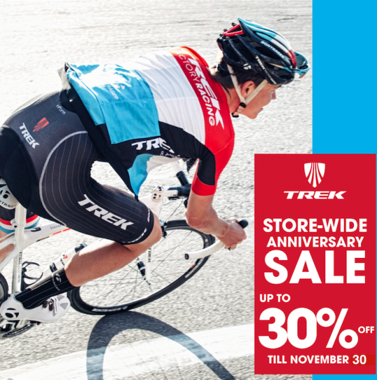 Trek Anniversary Sale 2015