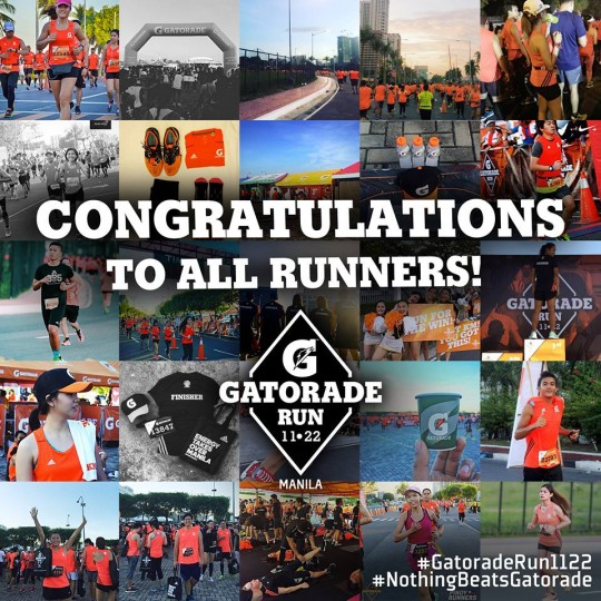 (Photo © Gatorade Philippines)
