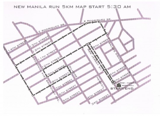 5K New Manila Run scanned map 001