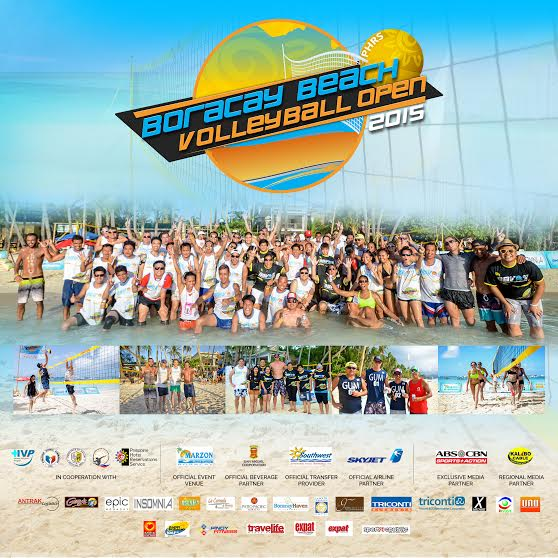 Boracay Beach: PHRS Boracay Beach Volleyball Open Season 4
