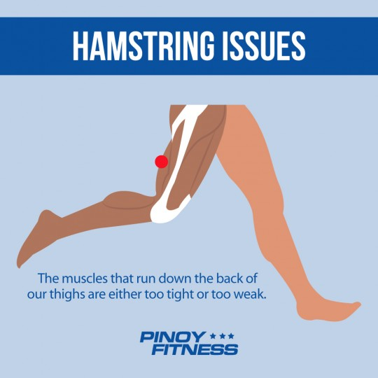 hamstring issues