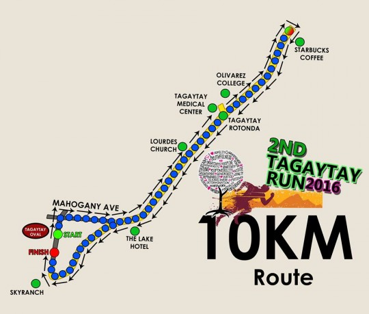 2nd-Tagaytay-RUn-10k-route