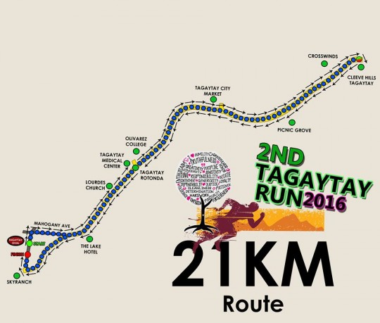 2nd-Tagaytay-RUn-21k-route
