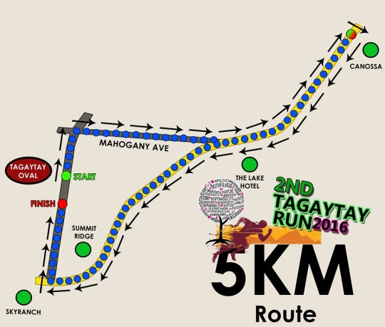 2nd-Tagaytay-RUn-5k-route