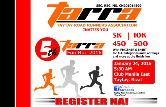 5th-TaRRA-Fun-Run-2016-Poster