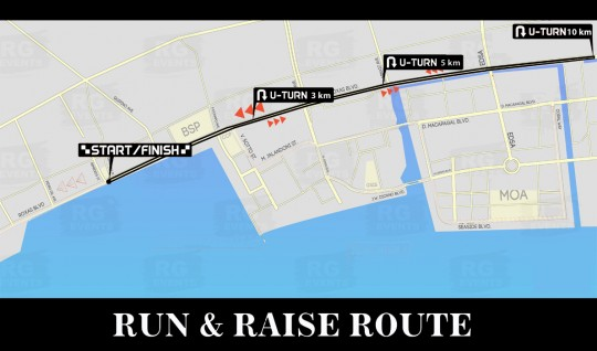 Run and Raise Map