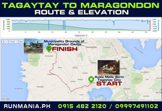tagaytay-to-maragondon-50K-ultramarathon-2016-route-map-elevation