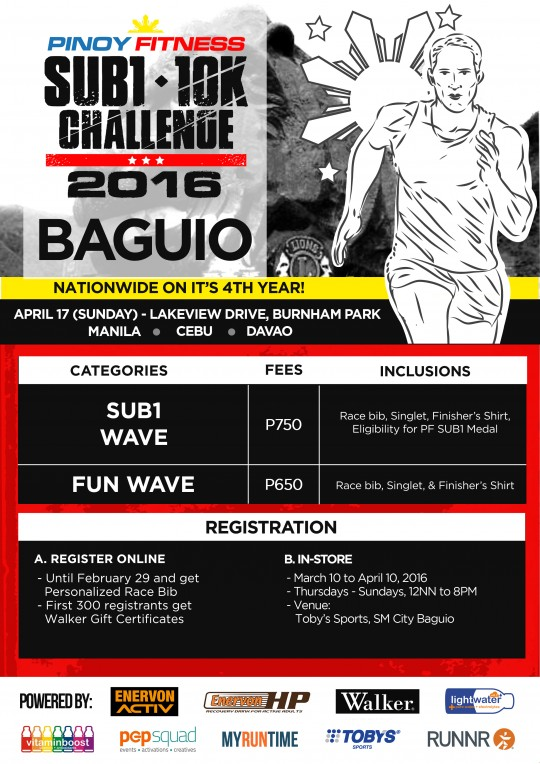 PF SUB1 2016 Poster Baguio
