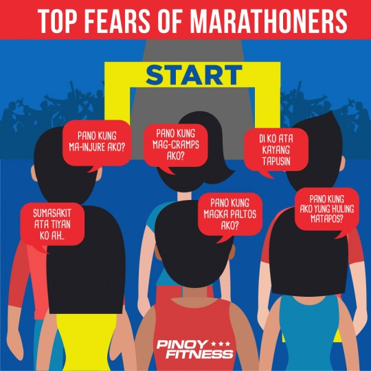 Top Fears Of Marathoners