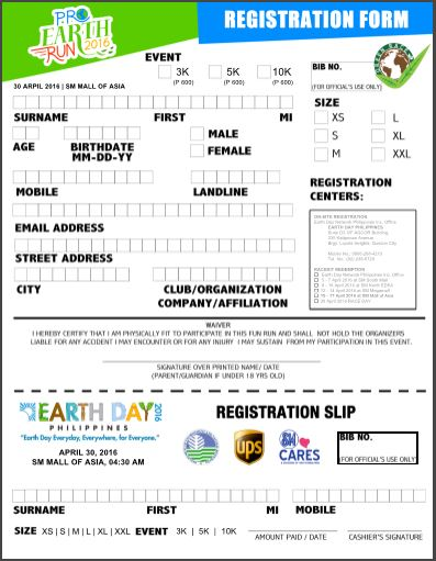 pro-earth-run-registration-form