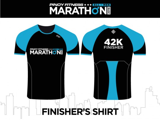 PF Marathon FInisher Shirt