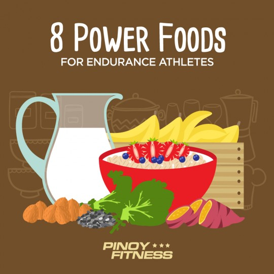 8 Power Foods For Endurance Athletes Pinoy Fitness