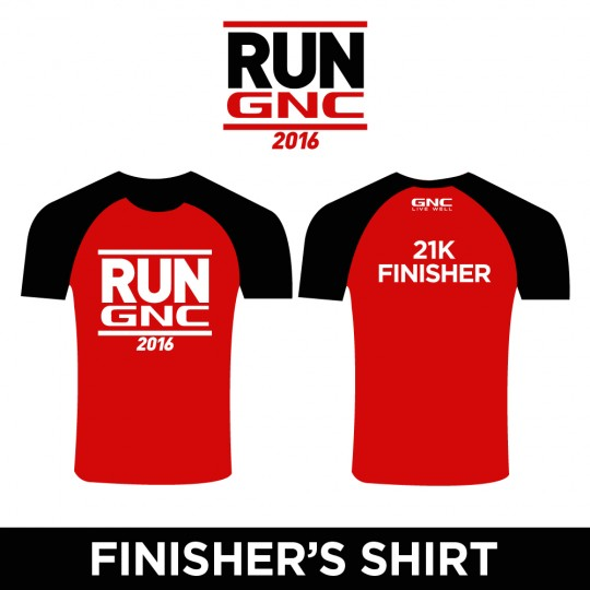 RUN GNC Finisher Shirt