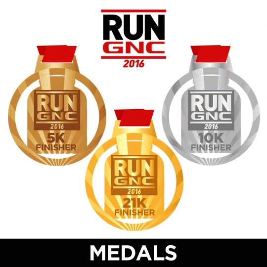 RUN GNC Medals