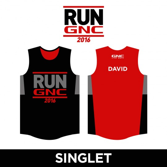 RUN GNC Singlet