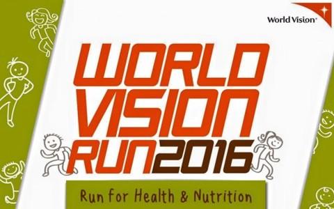 World Vision Run 2016 Cover