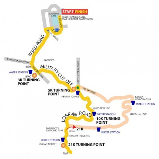 baguio-2wenty-1ne-race-route-map