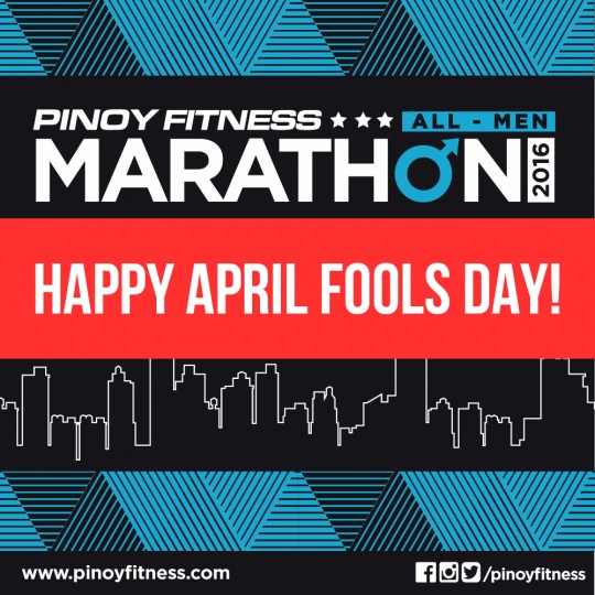 PF Marathon Poster Fools