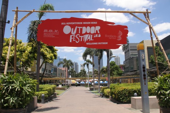 R.O.X. Outdoor Festival Entrance
