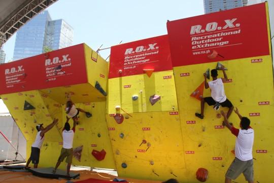 R.O.X. Zero Gravity Bouldering Competition