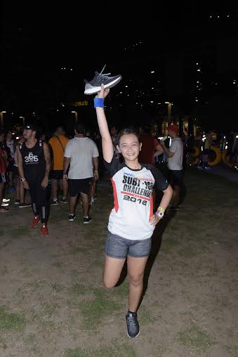Top runners from each group were given adidas pairs to test out during the event.