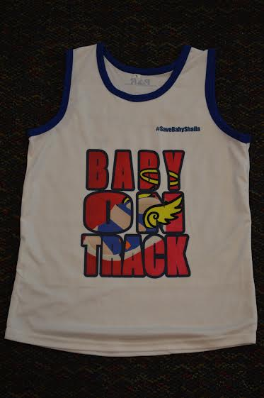 baby on track 2016 singlet