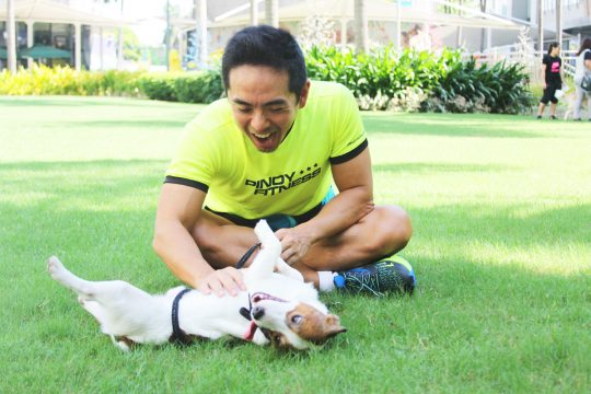 Research proves that petting your dog reduces cortisol which prevents obesity, heart attack, diabetes and even cancer