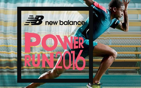 New Balance POWER RUN 2016 SAVE THE DATE Cover