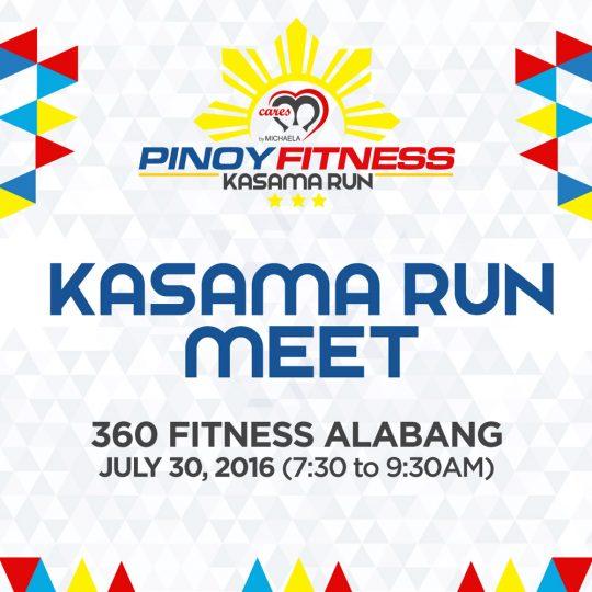 PF Kasama Run Meet Alabang