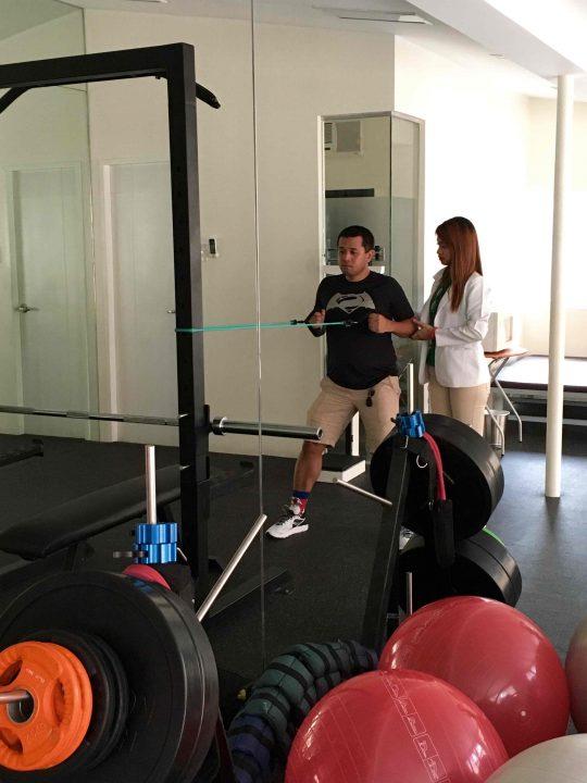 Photo 9 upper body strengthening session1