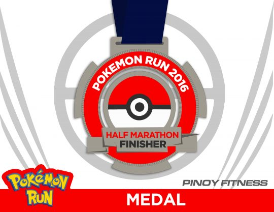 Pokemon Run MEDAL
