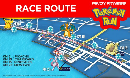 Pokemon Run Map