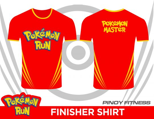 Pokemon Run shirt