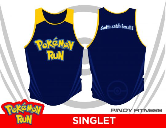 Pokemon Run singlet