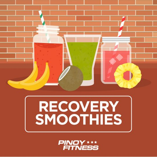 Recovery smoothies
